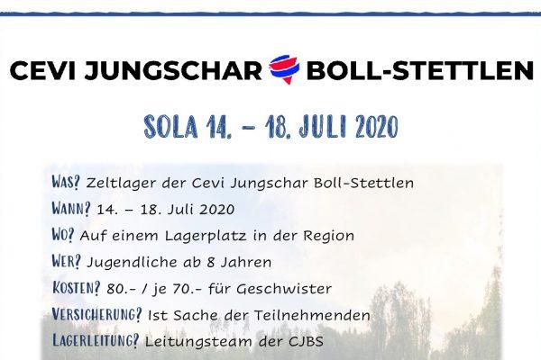 SoLa vom 14. bis 18. Juli 2020